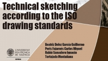 Technical sketching according to the iso drawing standards