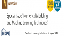 "Special Issue ""Numerical Modeling and Machine Learning Techniques"""